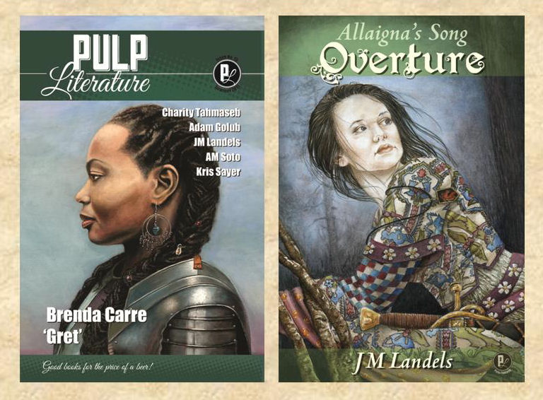Pulp Literature Double Launch: Pulp Literature Issue 15 & Allaigna's Song: Overture